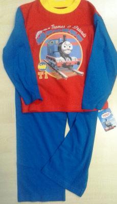 Thomas de Trein Trui (donkerblauw) (Maat: 86 92) | TH Jumper2008